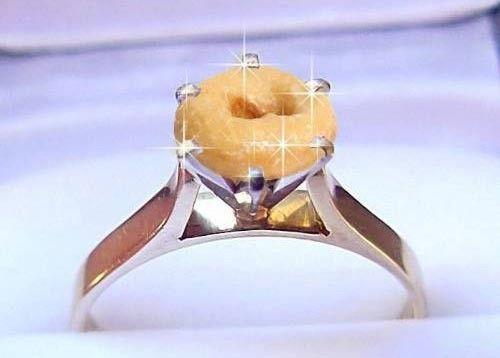 Donut wedding ring Best Weddings 2018
