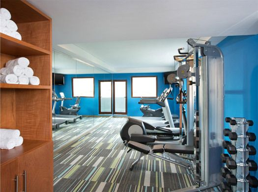 6 of the best hotel gyms for budget travellers – a worldwide list: Aloft Hotel, Cancun. Photo courtesy of starwoodhotels.com