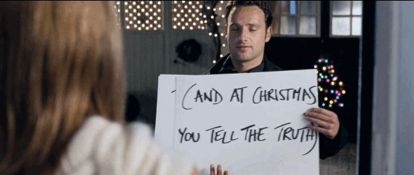 """No one shows up at your house on a freezing cold night with cards professing their love to you. 