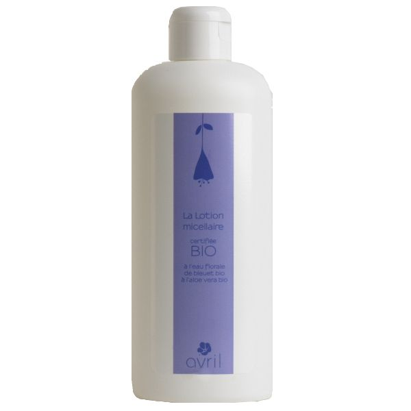 Lozione Micellare - Acqua Floreale di Fiordaliso Bio che rimuove il trucco e deterge il viso delicatamente di Avril Cosmetique!