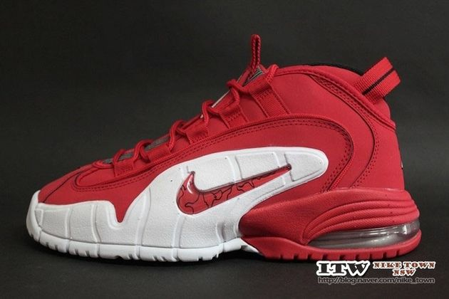 Nike Air Max Penny 1-Red-1 | FRESH FEET | Pinterest | Air max, Penny  hardaway and Nice