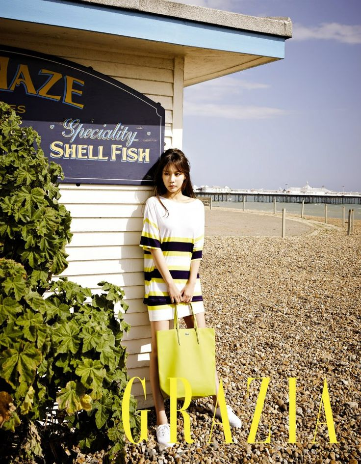 Kim Ah-joong // Grazia // May 2013