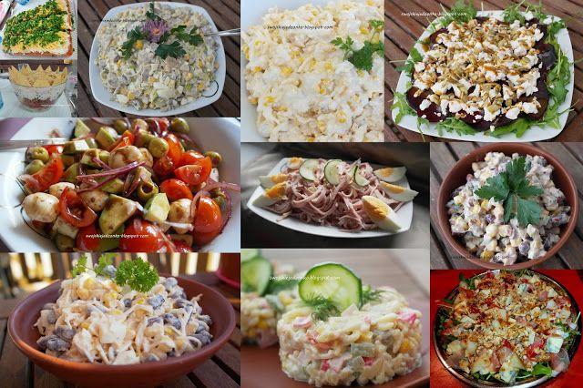 Swojskie jedzonko: 16 pomysłów na pyszne sałatki