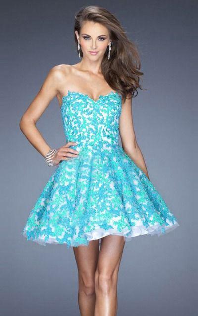 Sweetheart Sleeveless A-line Zipper Short Formal Dresses afea7551