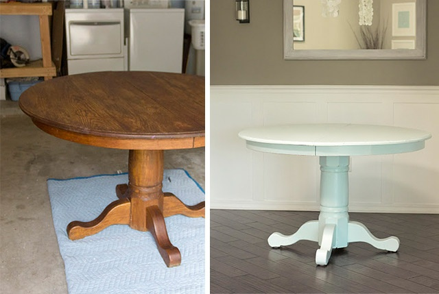 DIY - Table Paint Makeover - Full Step-by-Step Tutorial. *My suggestion would be to follow this Tutorial instead on painting furniture. Pinned here: http://pinterest.com/pin/263601384409225217/