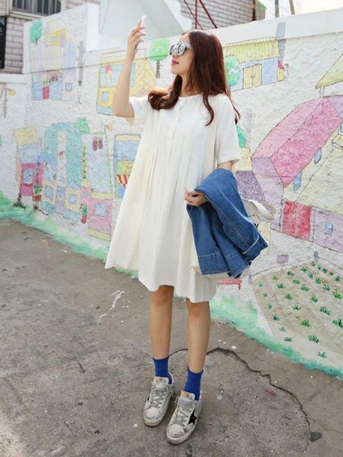 WEARで発見♡《白ワンピース》をおしゃれカジュアルに着こなす方法 | 4meee! (フォーミー)