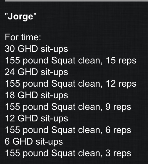 Squat cleans and GHD sit-ups #crossfit