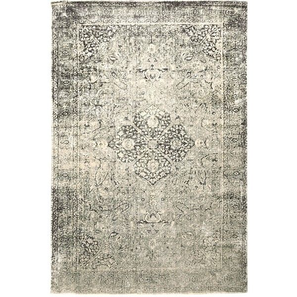 Pier 1 Imports Gray Regen Medallion Rug ($500) ❤ liked on Polyvore featuring home, rugs, grey, pier 1 imports, medallion rug, medallion area rug, grey rugs and grey area rug
