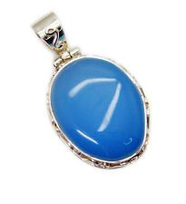 Chalcedony 925 Sterling Silver pleasing wholesale Pendant gift UK