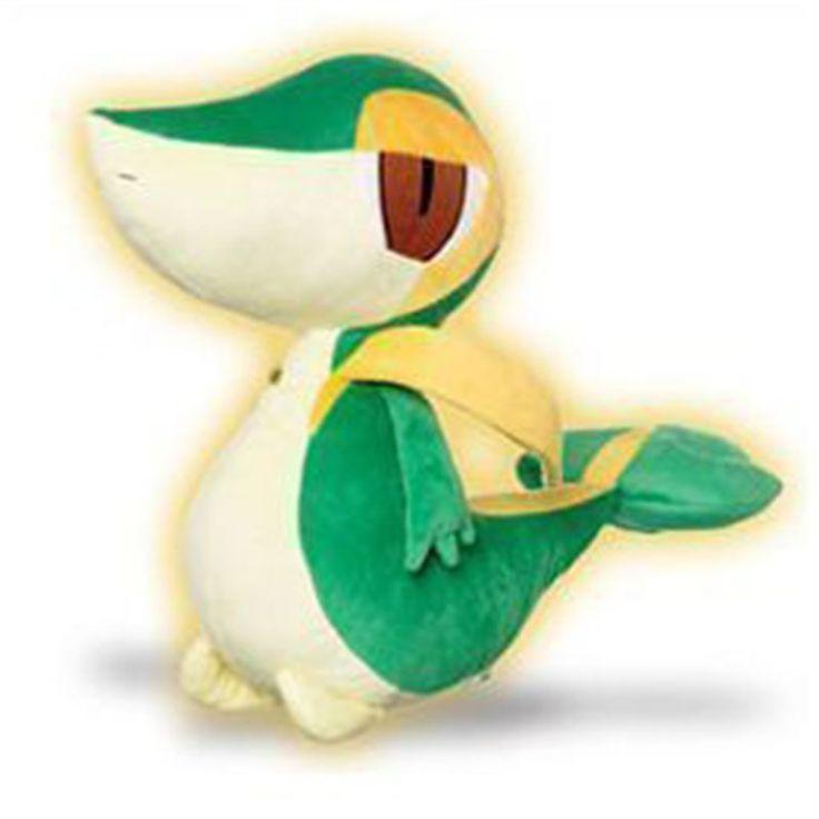 BEW SNIVY PLUSH Snivy, lo starter d'erba di Pokemon Bianco/Nero, in un fantastico peluche da 40 cm. Finiture di qualità, licenza ufficiale Nintendo - Maggiori dettagli: http://www.thegameshop.it/it/peluche/611-tomy-pokemon-bew-snivy-big-40cm-5011666718012.html#sthash.uw81gNXi.dpuf
