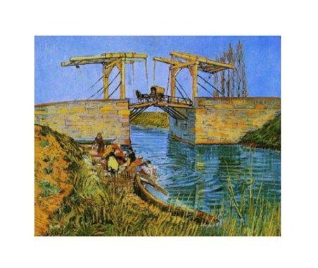 The Bridge at Langlois Vincent Van Gogh #impressionism