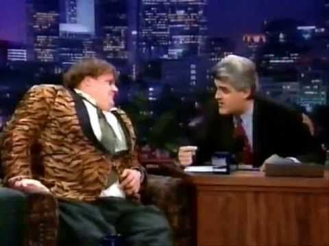 Chris Farley... Insane interview, and although he's there to be funny it's extremely tragic considering his death 11 months later