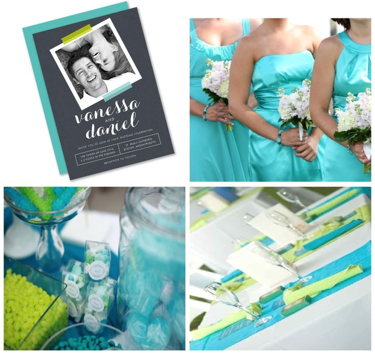 Turquoise Green Inspiration Spring Preview 2017 Wedding Collection