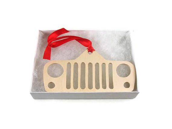 Are you or maybe someone you know into off roading, and 4x4s? Specifically Jeeps? This wooden off road Jeep Christmas ornament would be the perfect gift to get for yourself or a friend that will sure spark up some off roading or Jeep stories at the family / friends Christmas gathering.