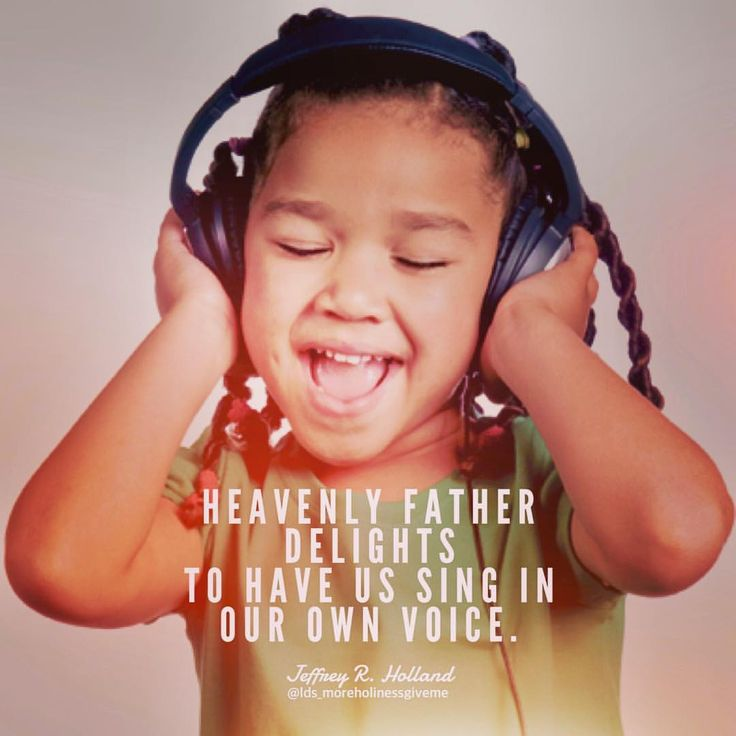 """""""Once we have accepted divinely revealed lyrics and harmonious orchestration composed before the world was, then our Heavenly Father delights to have us sing in our own voice, not someone else's."""" . #lds #ldsquotes #ldsconf #mormon #mormonquotes #iamamormon #iamachildofgod #christian #christianquotes #beyourself #uniqueness #diversity #beyoutiful #sing #sharegoodness #lighttheworld #elderholland"""