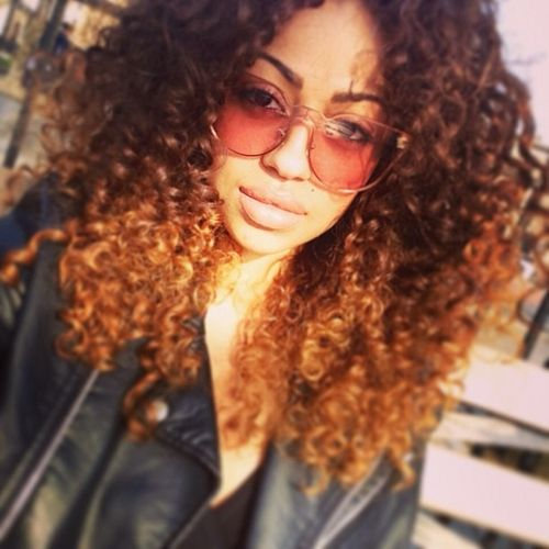 devildiaries:  My curls are pappin' today. Yes, PAPPIN'