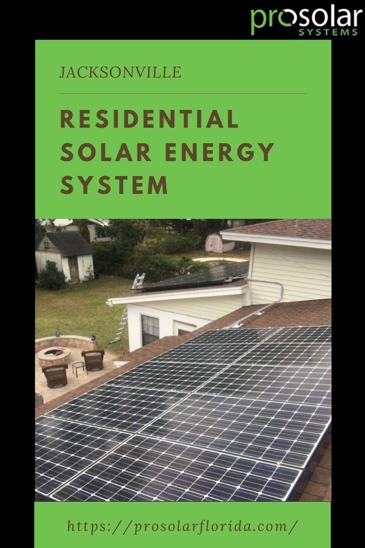 Jacksonville Residential Solar Power Florida Em 2020
