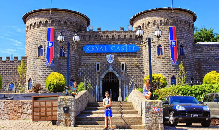 Life's Treasures & Simple Pleasures: Ballarat ~ Kryal Castle - Buildings & Grounds