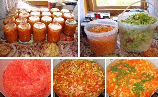 Коллекция Рецептов: ЛЕЧО! ЛЕЧО - 3 кг помидор, 1 кг перца, 1 кг моркови, 1 кг лука, 1 стакан сахара, 3 ст. л. соли, 300 ...