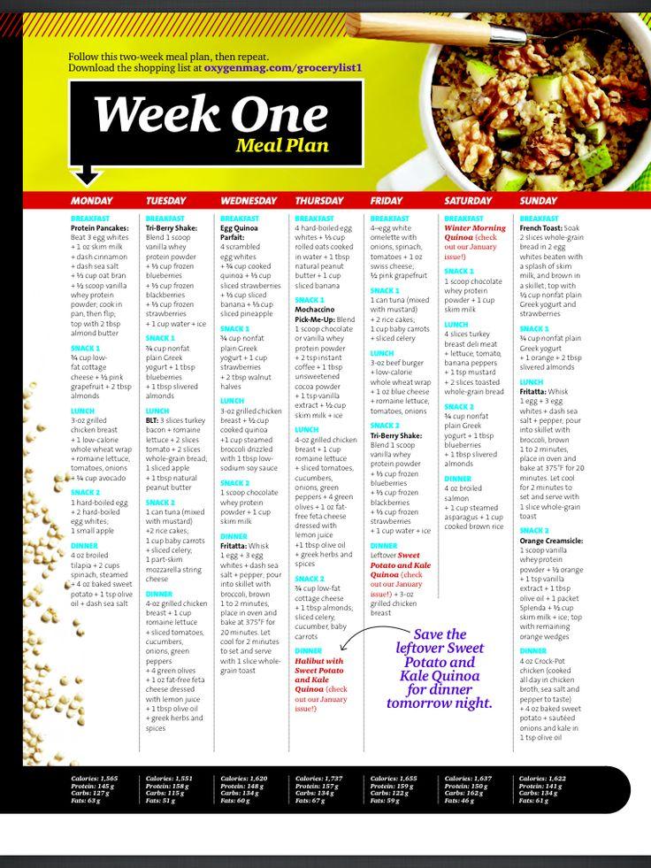1 week clean eating plan