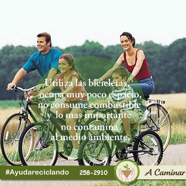 Usa tu bicicleta como medio de transporte, así sea para trayectos cortos, así beneficia tu salud y el cuidado del medio ambiente. ¡Sé Eco - friendly ! Contáctenos : 258 - 2910 / Rpc. 998178541 Descubre más de nuestro trabajo aquí: http://acaminar.org/donaciones