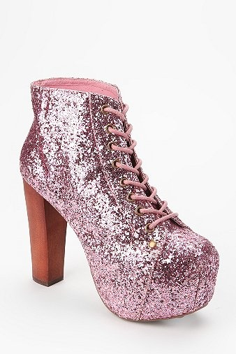 Jeffrey Campbell Glitter Lita Boot OMFG