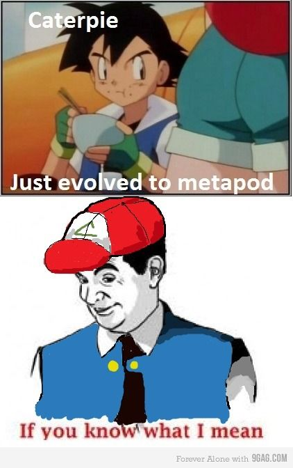 Metapod uses harden | Childhood ruined, Humor and HahaIf You Know What I Mean Meme Jokes