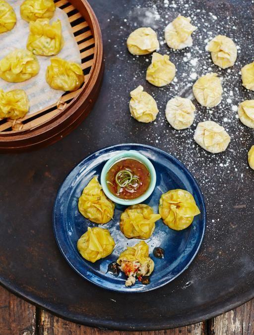 Prawn & Crab Wontons | Seafood Recipes | Jamie Oliver Recipes