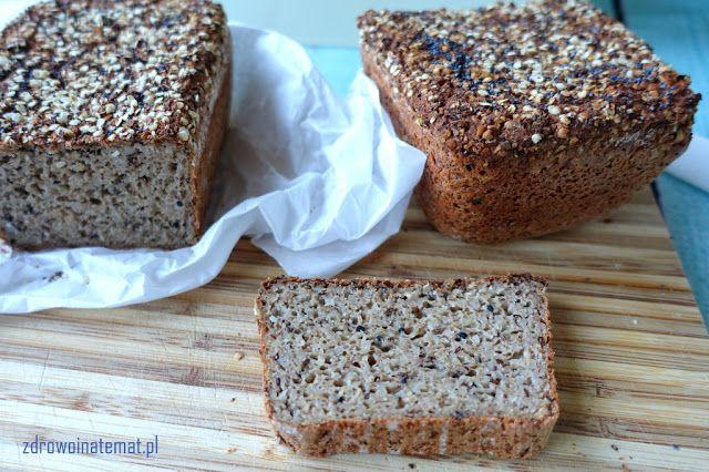 Zdrowo i na temat...: Pyszny chleb bezglutenowy. Miękki i sprężysty. Zachowuje długo świeżość. Bez gumy guar.