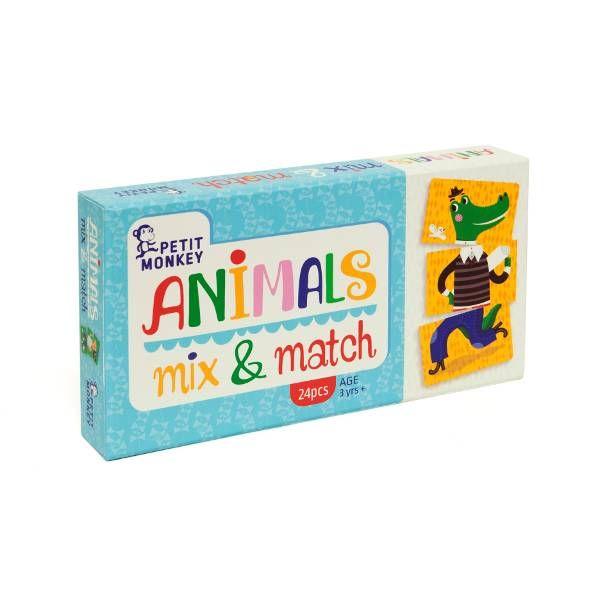 Petit Monkey Animal Mix & Match