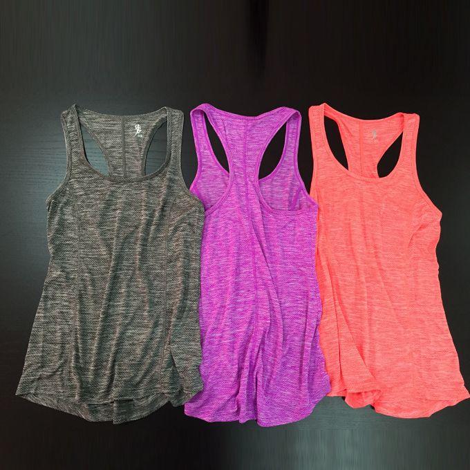 Летние виды спорта на открытом воздухе футболку Женщины Тонкий Быстросохнущий дышащий работает подготовки фитнес-одежды слова жилет йога одежда - Taobao