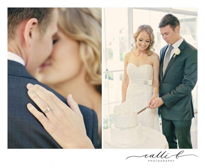 Maleny Manor Wedding Photography, wedding cake cutting, Sunny Girl Cakes, Calli B Photography
