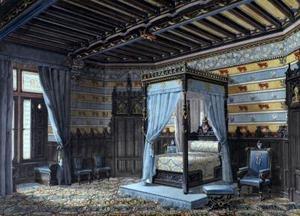 Gothic Victorian Bedroom 73 best victorian bedrooms images on pinterest | victorian bedroom