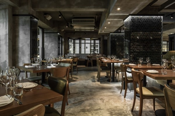 Restaurant Sal Curioso in Hong Kong by Stefano Tordiglione Design