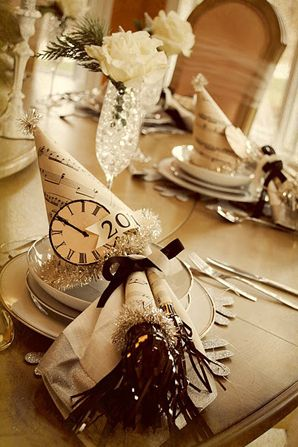 128 best images about Wedding - New Years Eve on Pinterest | Clock ...
