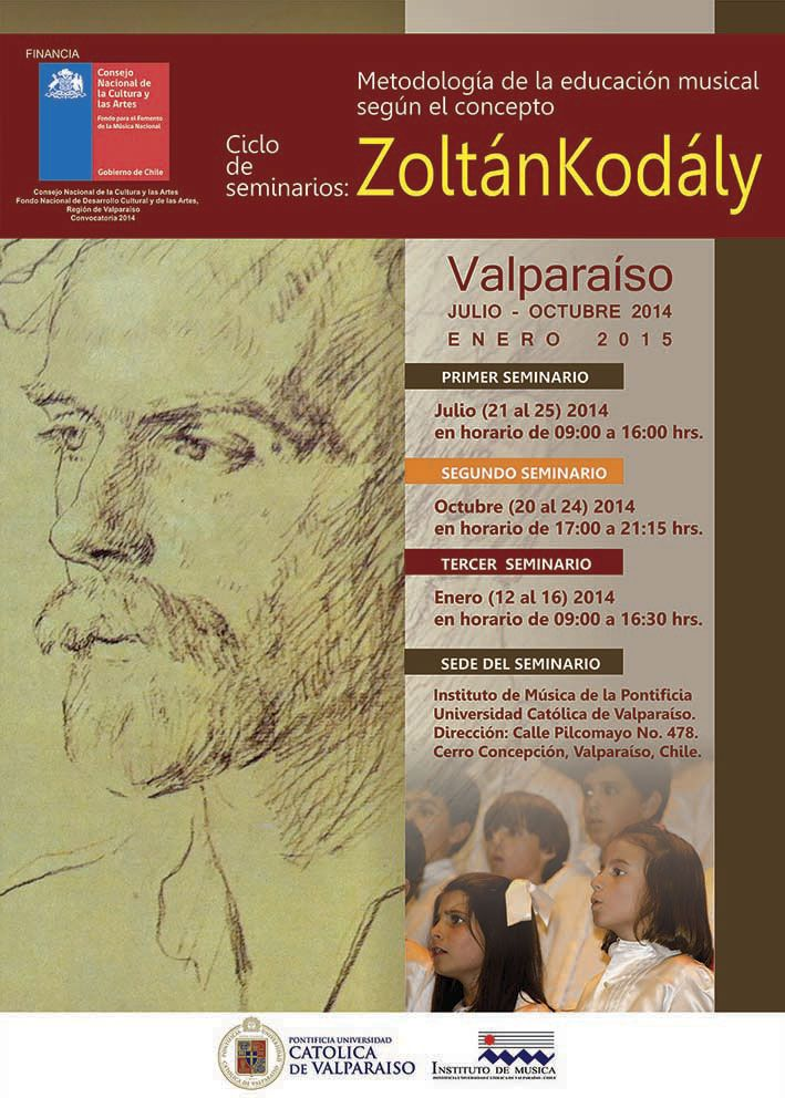 Afiche Ciclo de Seminarios Pontificia Universidad Catolica de Valparaiso