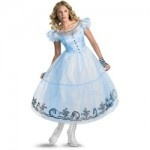 Alice In Wonderland Ladies Costume From Tim Burtons Movie