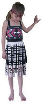 Kapa Haka Maori Girls Costume - New Zealand costume ideal for Nation Day worldwide. http://www.shopenzed.com/kapa-haka-maori-girls-costume-xidp139776.html