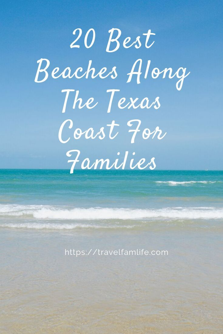 Texas Has Over 350 Miles Of Shoreline And Many Wonderful Beaches For You To Chose From In 2020 Texas Coast Texas Beaches Beach