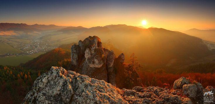 Sulovske skaly, Slovakia by M. Kovac