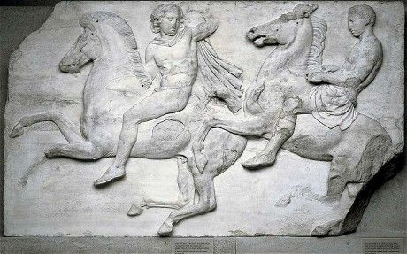 The Elgin Marbles - from the ruin of the Parthenon.
