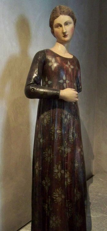 15th century Italy - Tuscany    sculpture of Virgin of the Annunciation    Musée des Beaux-Arts, Lyon      http://www.flickr.com/photos/34326717@N03/3574756577/in/set-72157618148963032
