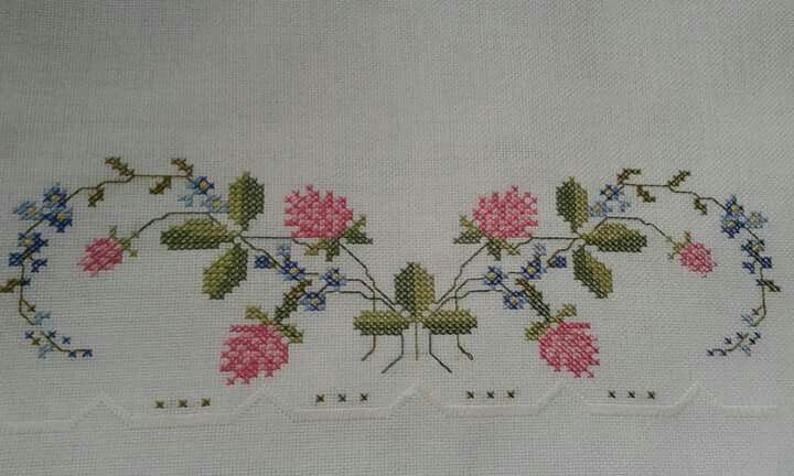 Ramitas para tejer en canvas