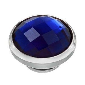 BUTTON-LIKE POPS KAGI GEMPOPS THE DUCHESS STERLING SILVER ROYAL BLUE CUBIC ZIRCONIA SEPTEMBER BIRTHSTONE - Jons Family Jewellers