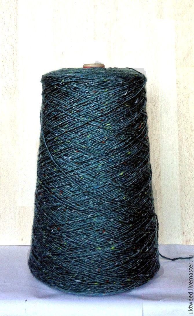 Купить Мохер Твид (Mohair Tweed) 70% шерсть, 30% мохер - морская волна