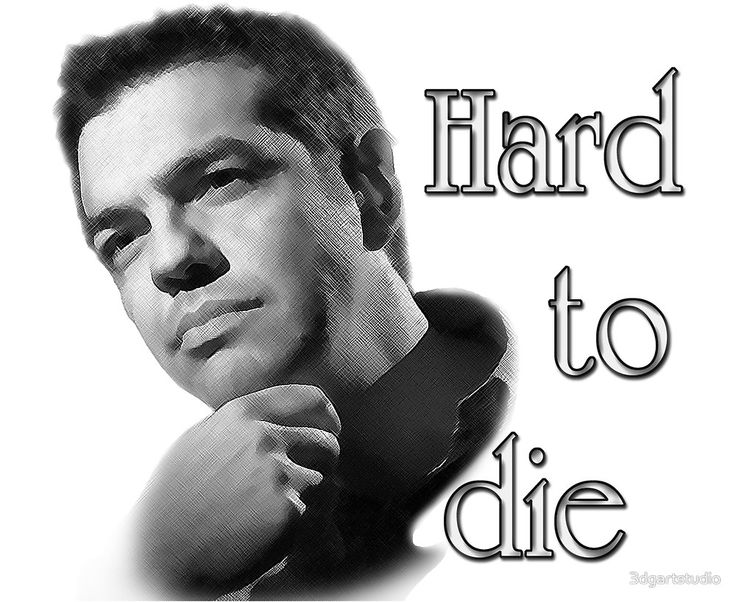 "Do you like Mr. Alexis Tsipras, Prime Minister of Greece ? They told for him: ""Hard to die"" Available on T-shirts, mugs, pillows, phone cases, etc. on Redbubble"