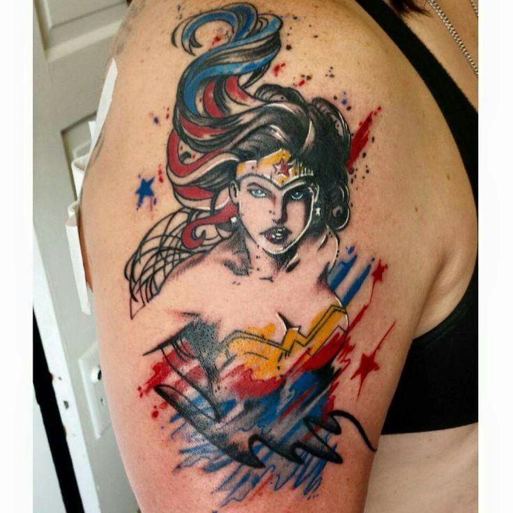Best Wonder Woman Tattoo I've Seen