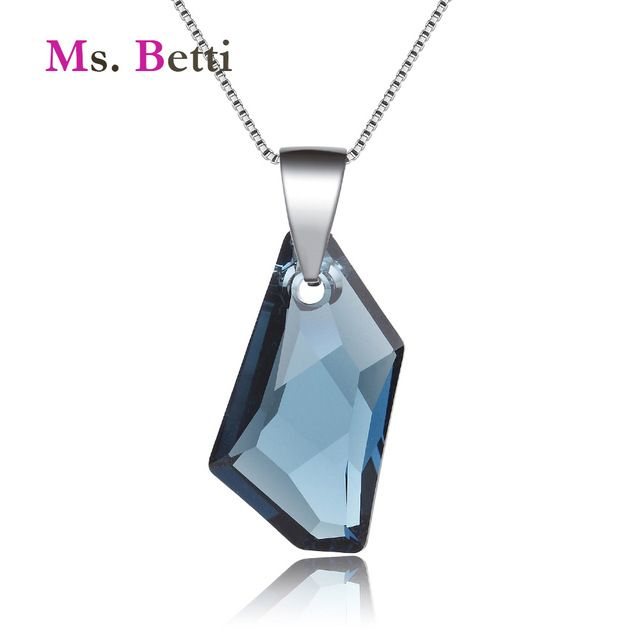 Rare Offer $10.34, Buy 2017 New Wedding Jewelry pendant necklace for women with 100% Genuine Crystal from Swarovski good for Christmas gift Joyas