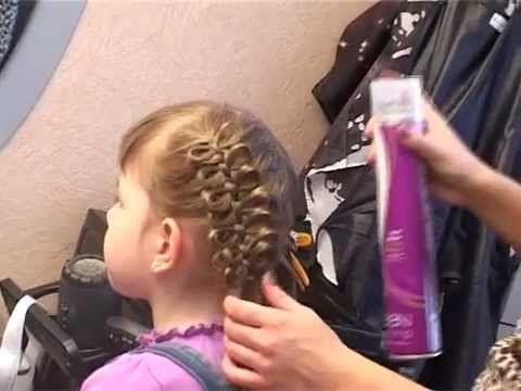 Плетение волос с лентами Easy & cute braiding. parikmaxer.tv - YouTube