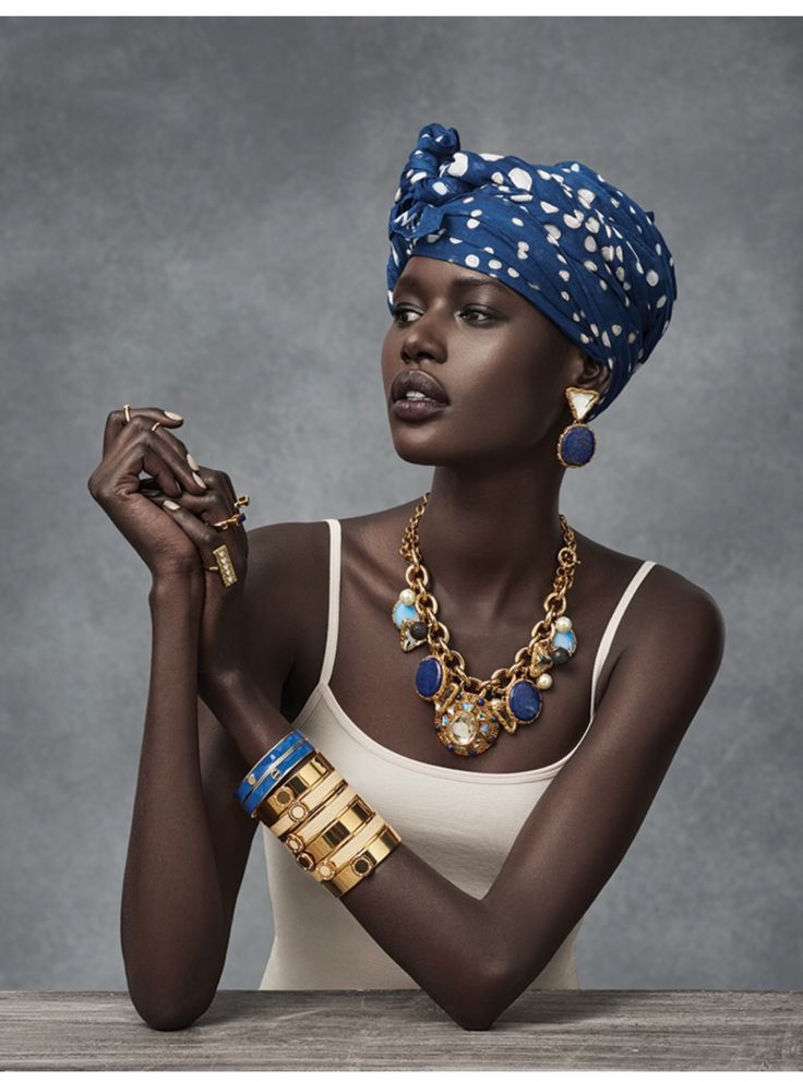 Ajak Deng for MIMCO Accessories by Christian Blanchard (holy mother of god she is stunning)